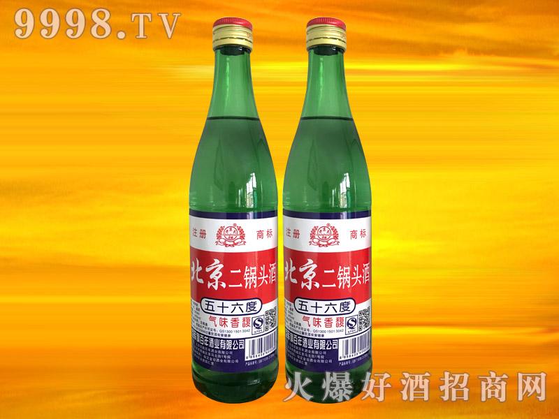 军旗百年北京二锅头酒56°500ml(绿瓶)