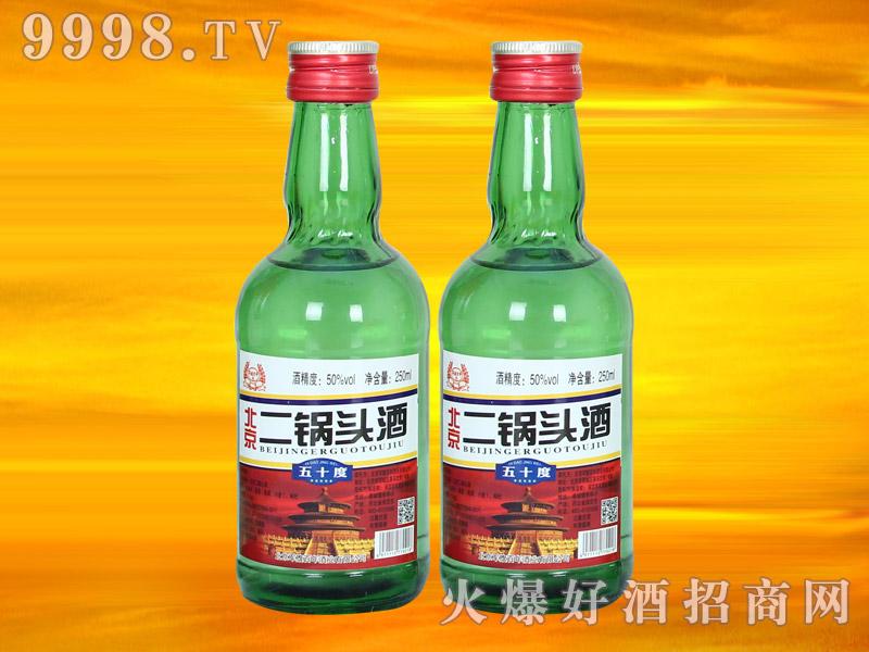 军旗百年北京二锅头酒50°250ml