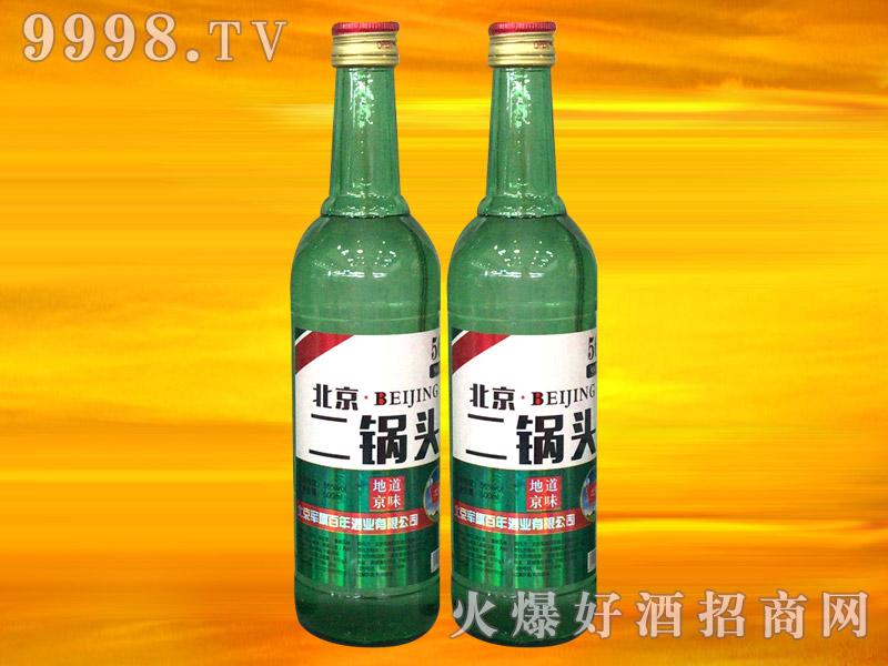军旗百年北京二锅头酒(绿标)56°500ml