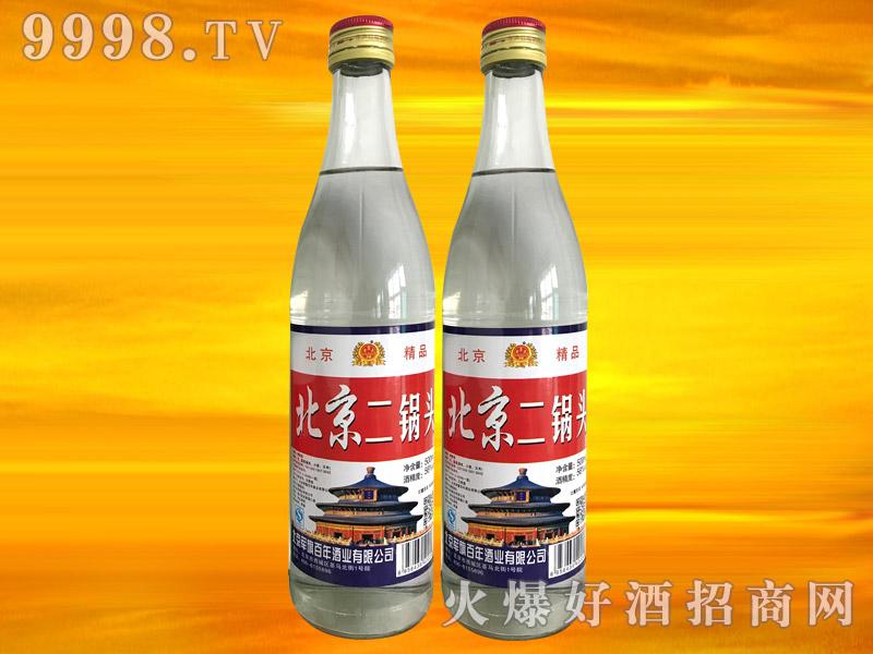 军旗百年北京二锅头酒56°500ml(白瓶)