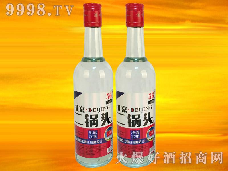 军旗百年北京二锅头酒(红标)56°500ml