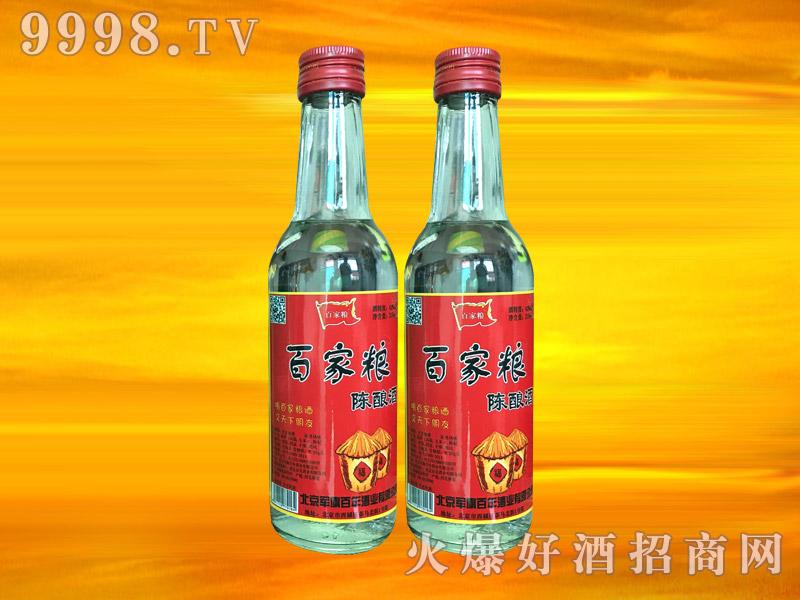 军旗百年百家粮陈酿酒(红瓶)42°250ml