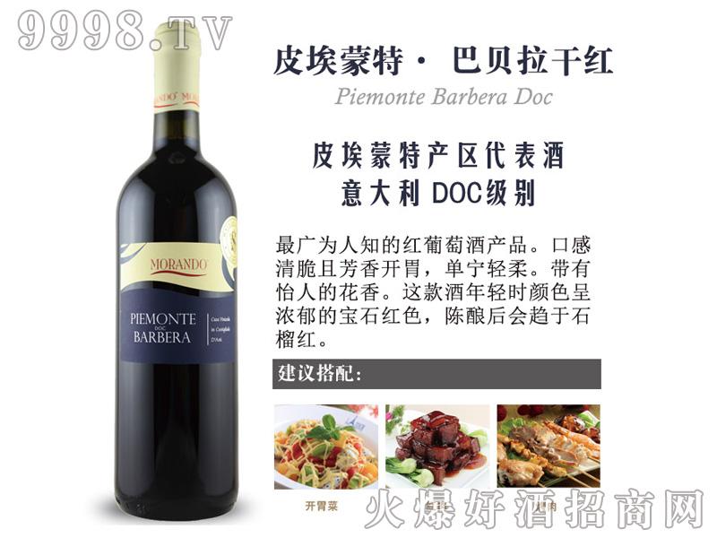 皮埃蒙特-巴贝拉干红葡萄酒