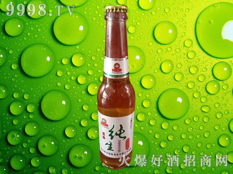 纯生风味啤酒