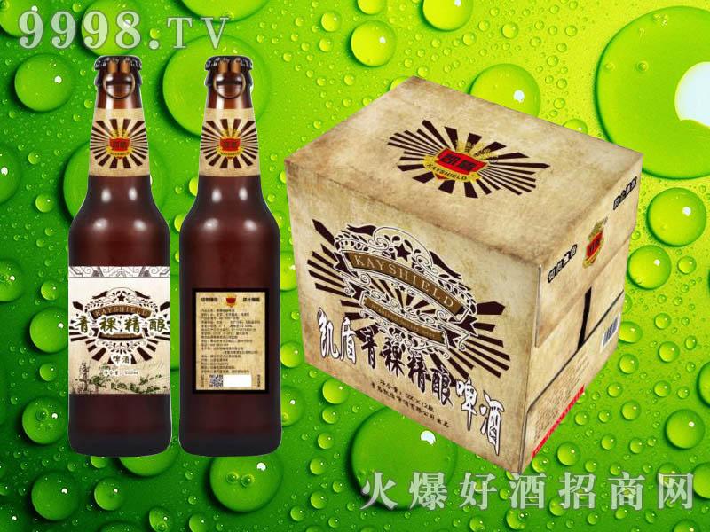 凯盾青稞精酿啤酒500ml×12瓶
