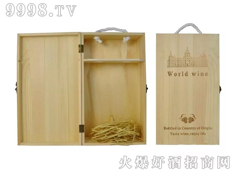 爱善国际双支木盒