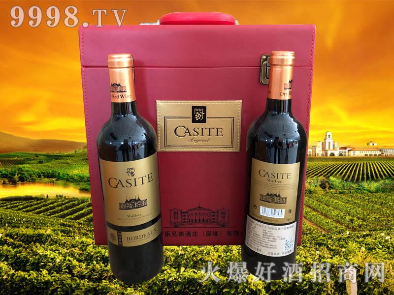 法国卡斯特·马尔贝克干红葡萄酒