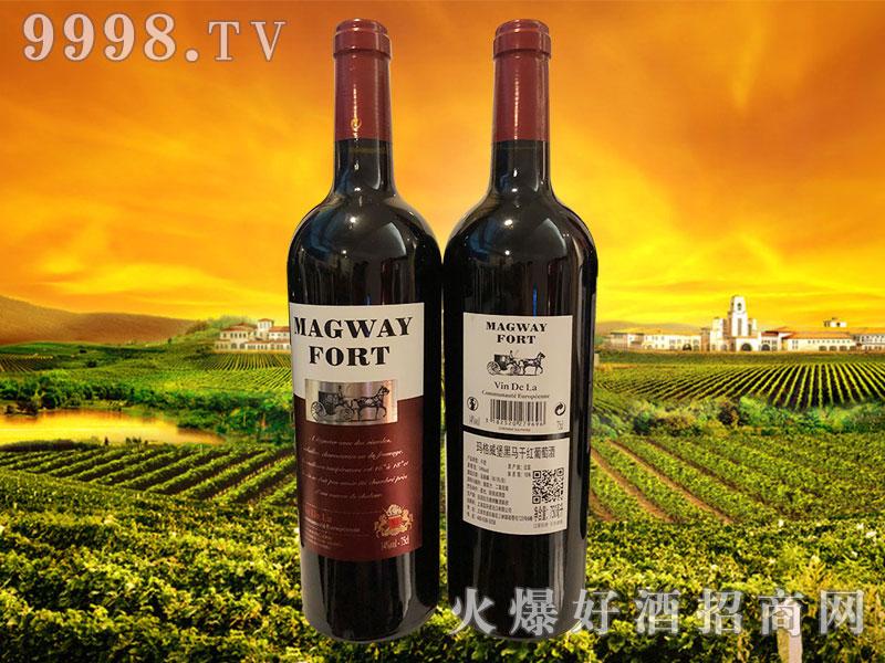玛格威堡黑马干红葡萄酒14°