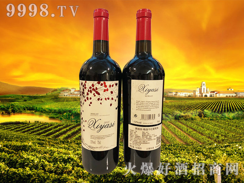 茜娅丝・梅洛干红葡萄酒2015