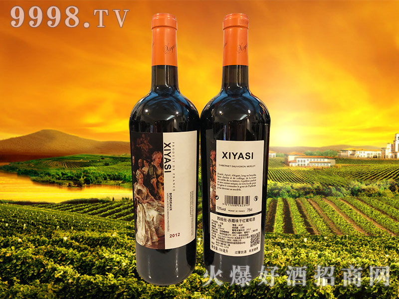 茜娅丝・赤霞珠干红葡萄酒2012