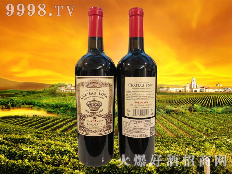 洛菲克・美乐红葡萄酒