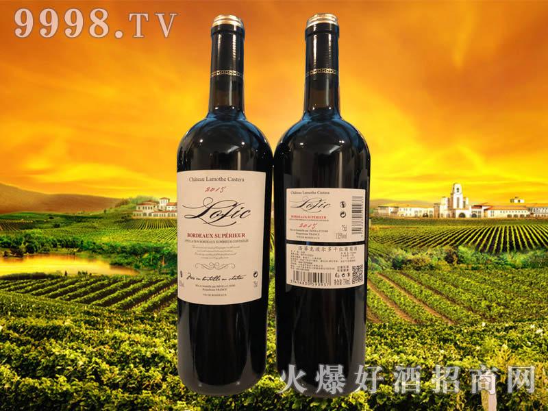 洛菲克波尔多干红葡萄酒75cl
