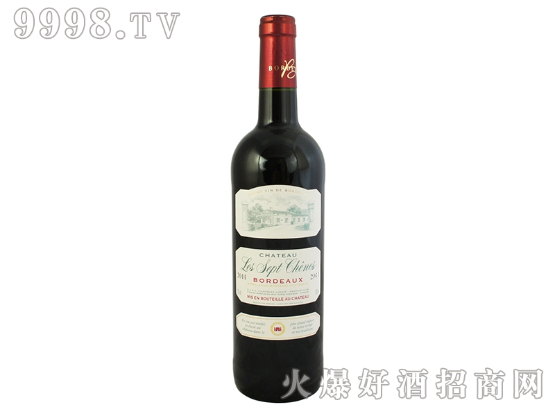 橡树城堡干红葡萄酒