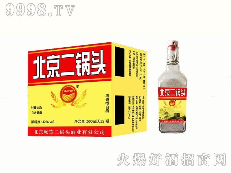 北京二锅头42%vol(黄标)