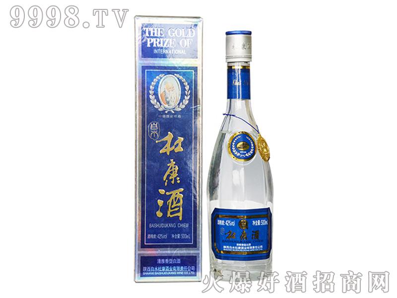 白水杜康国际金奖老八棱蓝盒450ml