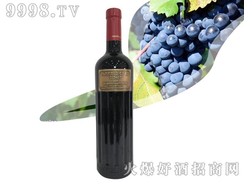 奔富克鲁斯BIN407赤霞珠干红葡萄酒