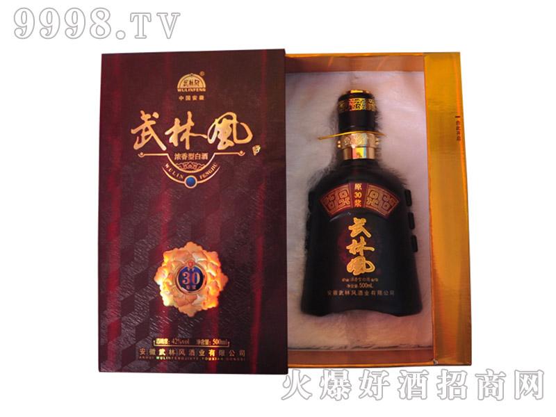 武林风酒三十年窖藏酒
