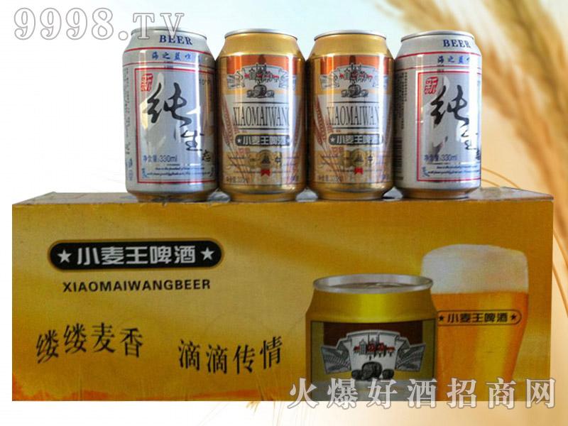 小麦王纯生啤酒330ml