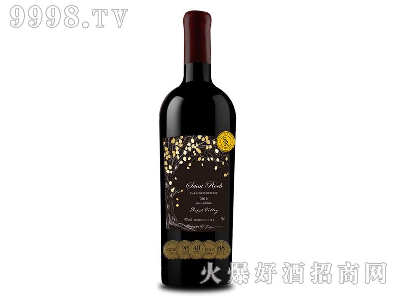 智利古树佳美娜干红葡萄酒2016