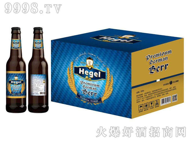 黑格尔啤酒330ml×24瓶(蓝箱)