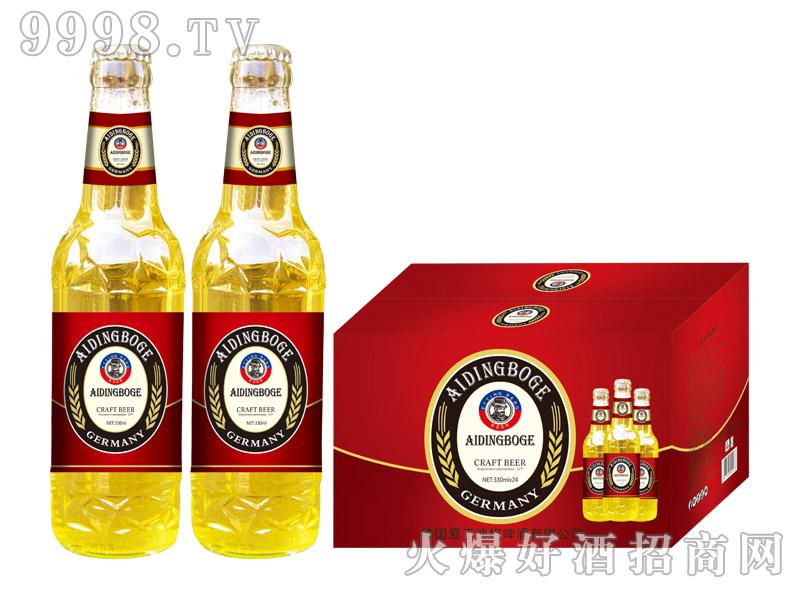 爱丁博格精酿啤酒330ml×24瓶(黄)