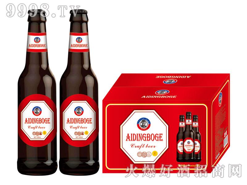 爱丁博格精酿啤酒330ml×24瓶(黑)