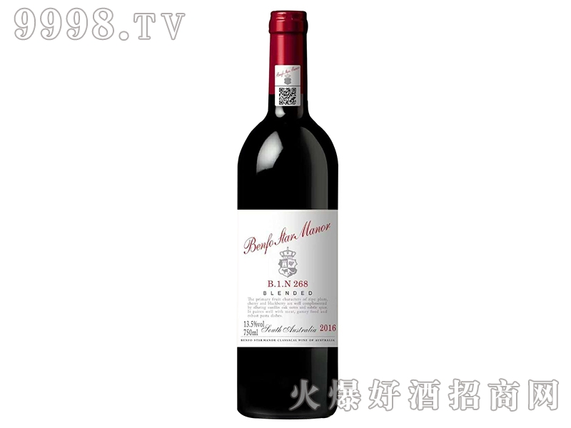 奔富明星庄268干红葡萄酒-红酒招商信息