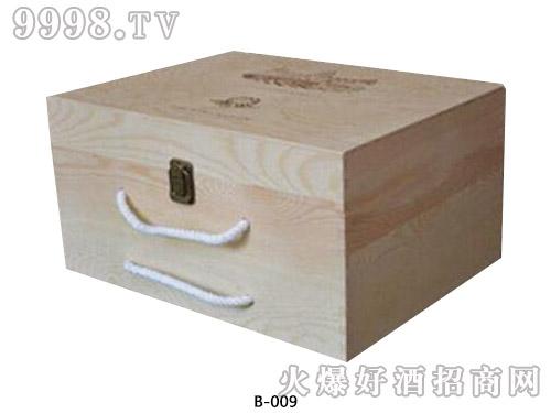 6支双排木箱包装