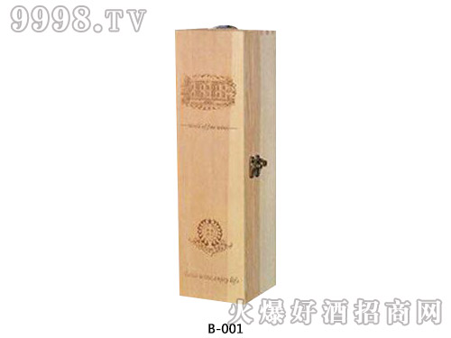 进口单支木盒包装