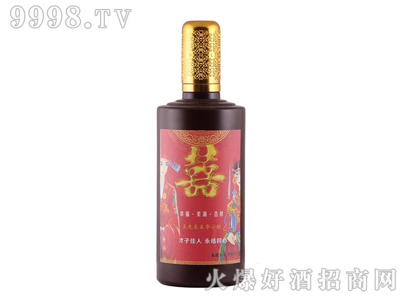左传原酒工坊定制酒・才子佳人、永结同心(黑瓶)-白酒招商信息