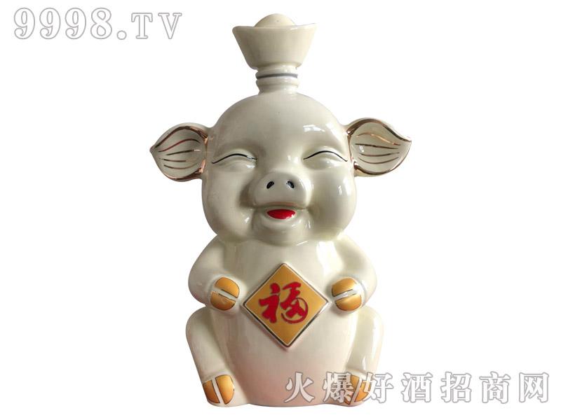 牛栏山庄酒·祥猪纳福