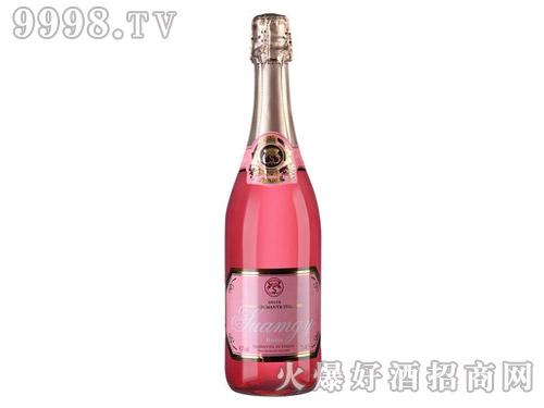 意大利圣芝桃红起泡酒葡萄酒