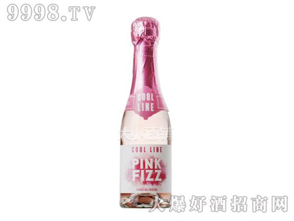 法国Cool Line Pink Fizz荔枝味桃红起泡葡萄酒