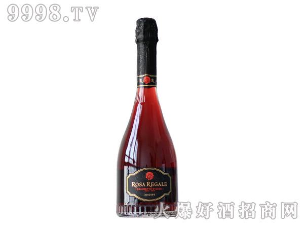 意大利班菲王室玫瑰甜红起泡酒葡萄酒