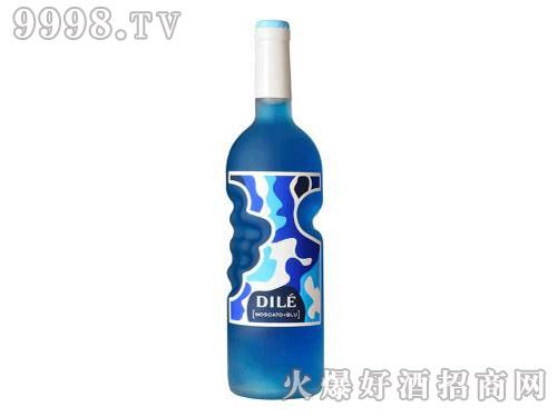 天使之手蓝精灵莫斯卡托女士起泡调制葡萄酒