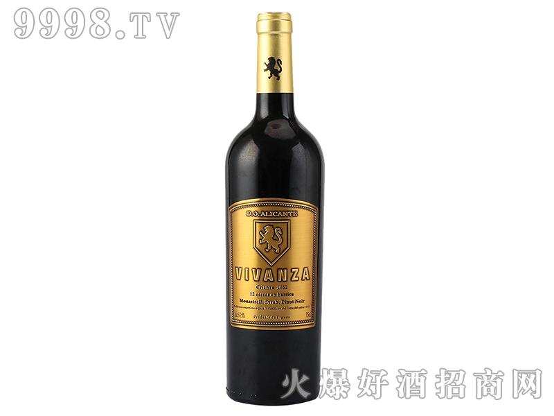 维西瓦12月橡木桶干红葡萄酒