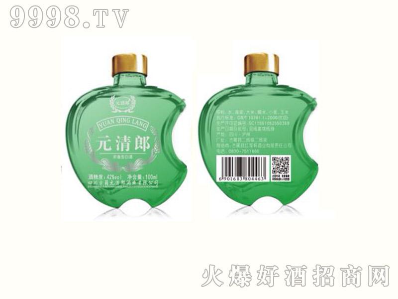 元清郎白酒100ml(绿瓶)