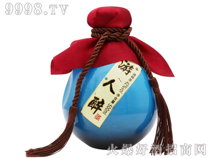 游人醉酒42度(蓝色)