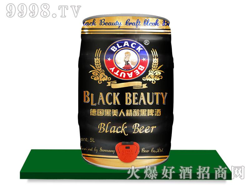 黑美人啤酒・原浆黑啤5L
