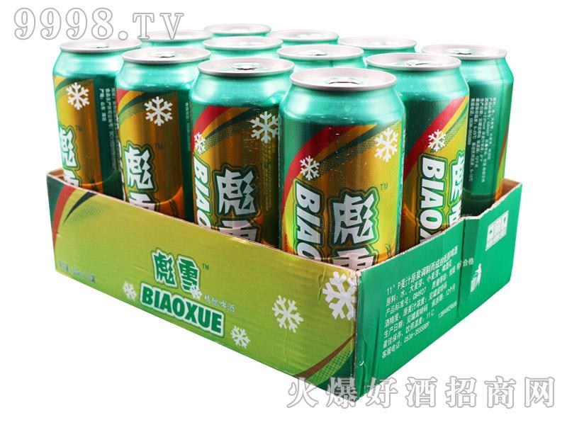 彪雪精酿啤酒500ml×12罐