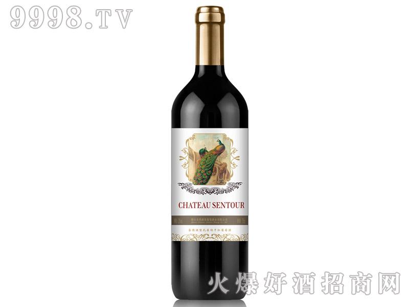 圣图酒堡孔雀翎干红葡萄酒