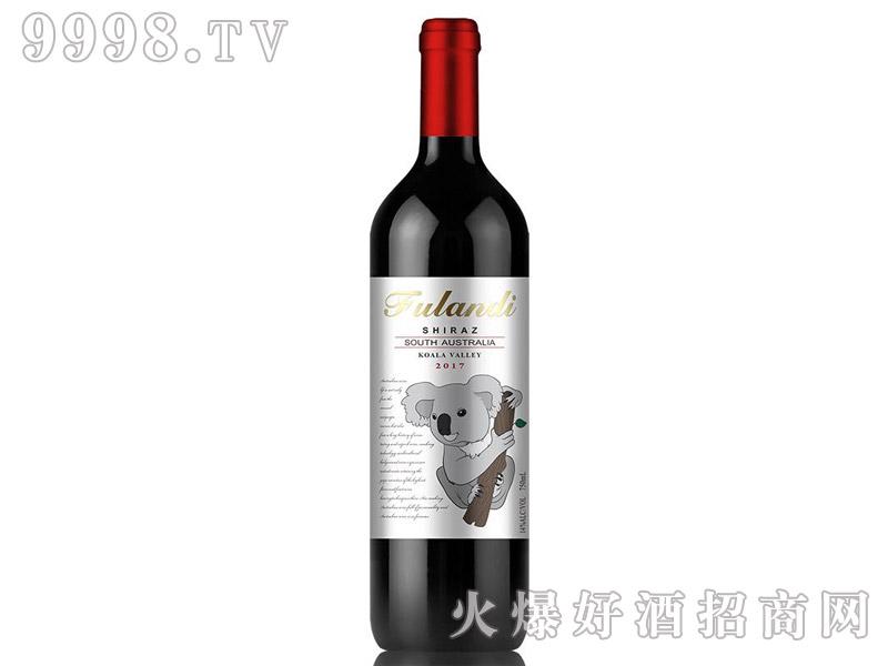 澳洲原瓶进口富朗迪酒庄考拉山谷西拉干红葡萄酒