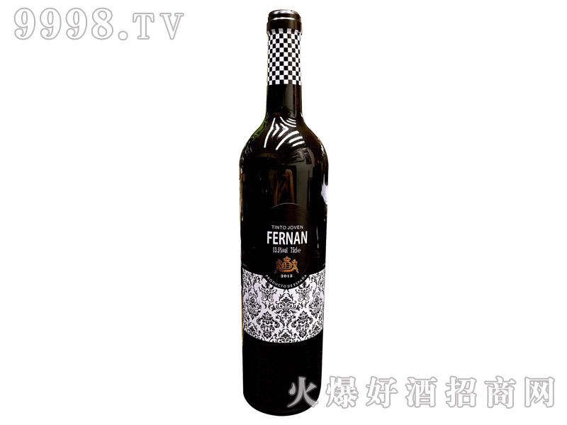 费尔南干红葡萄酒13.5°