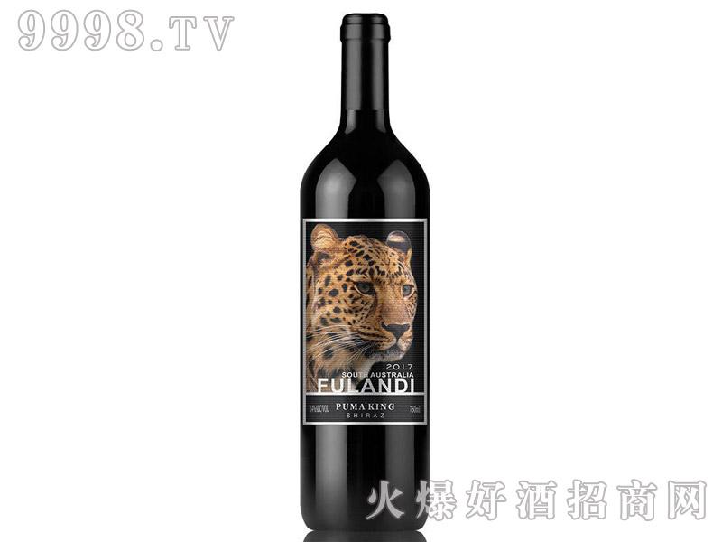 澳洲原瓶进口富朗迪酒庄金豹王西拉干红葡萄酒