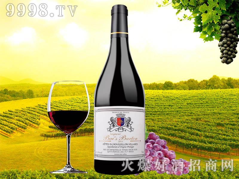 柏斯巴顿爵士干红葡萄酒