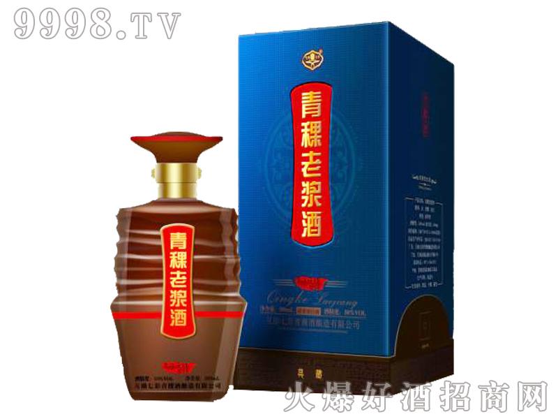 七彩青稞老浆酒