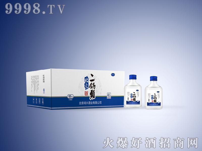 尚福兴北京二锅头酒100MLx40瓶