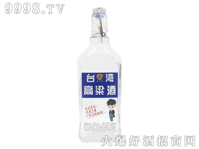 金台顺台湾高粱酒52度580ml
