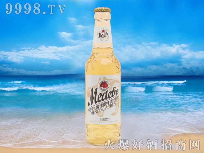 蒙德堡330ml瓶装啤酒(黄瓶)