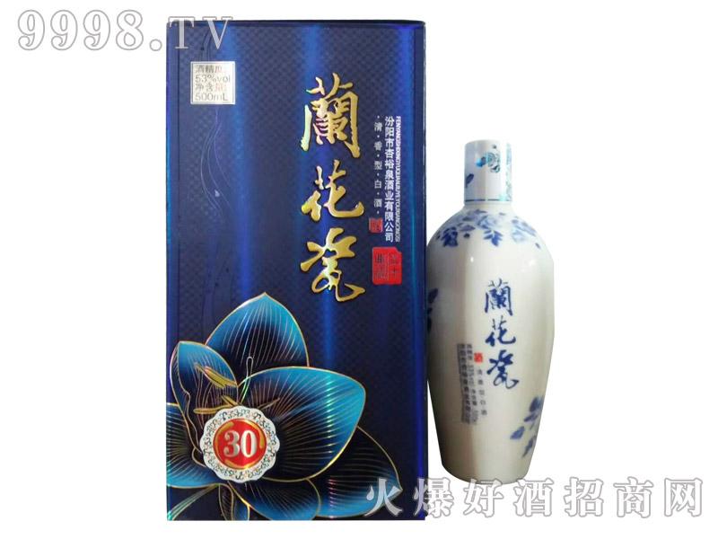 蓝花瓷酒30